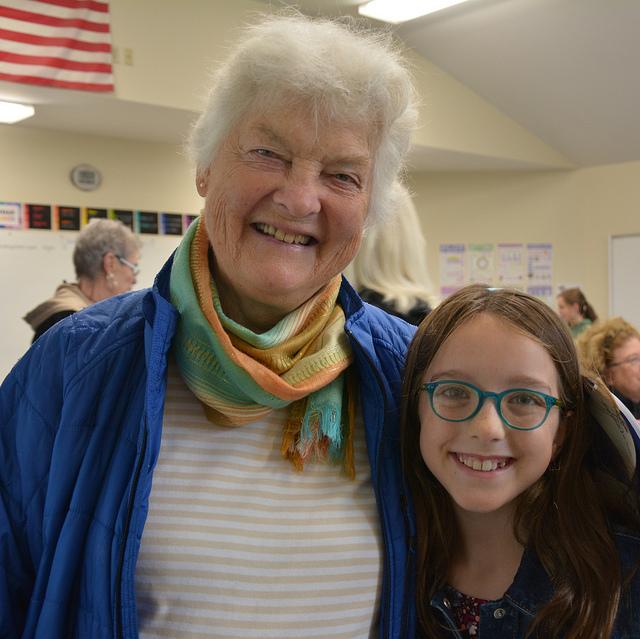 Shaker Road School Grandparents' Day